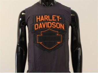 Tank-Top, Prime, Harley-Davidson, Grau