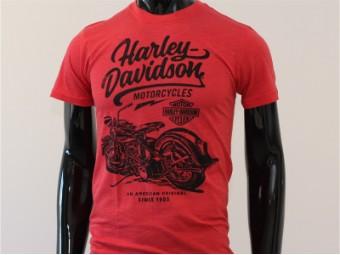 T-Shirt, Lifestyle, Harley-Davidson, Rot