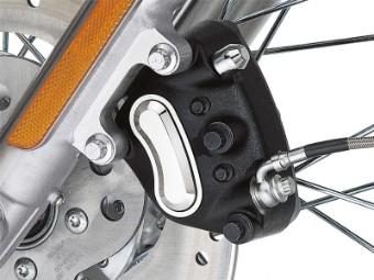 Bremssatteleinsatz Classic, Harley-Davidson, Chrom