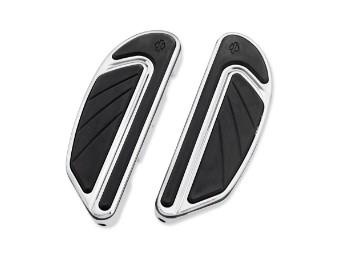 Trittbretter, Airflow, Sozius, Harley-Davidson, Chrom