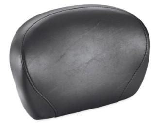 Rückenpolster, Glatter, Schalensitz, Harley-Davidson