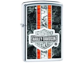 Zippo, ZFusion, Harley-Davidson, Polished Chrom