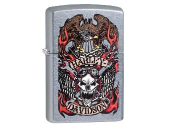 Zippo, Skull & Wrench, Harley-Davidson
