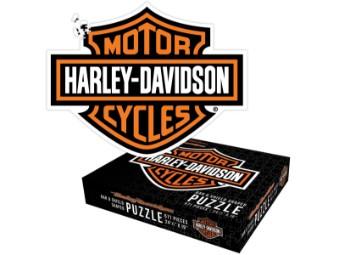 Puzzle, Bar & Shield, Harley-Davidson, Mehrfarbig