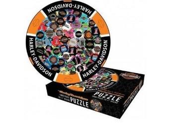 Puzzle, Pokerchip, Harley-Davidson