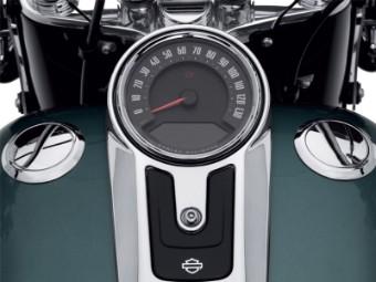 Bündiger Tankdeckel Kit, Links & Rechts, Harley-Davidson, Chrom