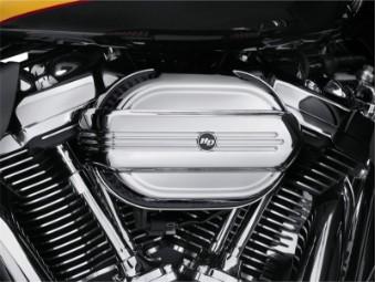 Luftfilter Zierblende, Defiance Kollektion, Milwaukee Eight, Harley-Davidson, Chrom