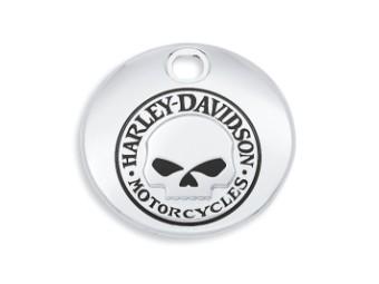 Tankkonsolenklappe, Willie G. Skull, Harley-Davidson