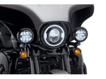 """Daymaker Signature Reflector, LED-Zusatzleuchten (4""""), Harley-Davidson, Schwarz"""