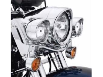 Zierschirm, Scheinwerfer, Harley-Davidson
