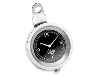 """Lenker, Uhr, 1,5"""", Harley-Davidson, Silber & Chrom"""