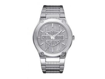 Armbanduhr, Frankfort, Harley-Davidson, Silber