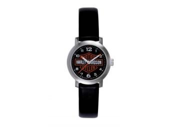 Armbanduhr, Seattle, Harley-Davidson, Schwarz/Silber/Orange