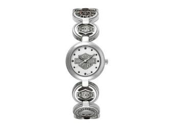 Armbanduhr, Charm, Harley-Davidson, Edelstahl