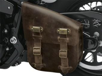 Schwingentasche, Single-Sided, Distressed, Harley-Davidson, Braun