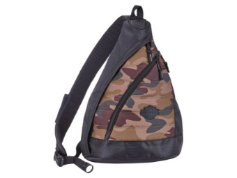 Rucksack, Sling, Quilted Travel Large, Camo