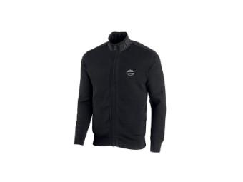 Pullover, Wind-Resistant, Slim Fit, Harley Davidson, Schwarz