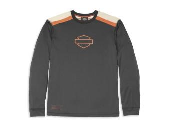 Langarmshirt, Performance, Coolcore(r) Technologie, Harley-Davidson, Schwarz