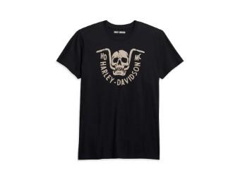T-Shirt, Harley-Davidson, Motiv Bar Bite, Schwarz