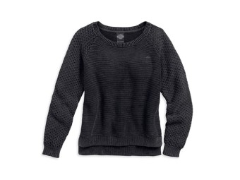Sweater, Harley-Davidson, Schwarz