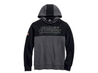 Pullover, Screamin' Eagle, Harley-Davidson, Grau/Schwarz