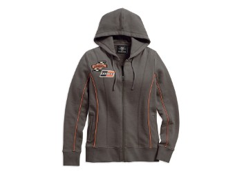 Pullover, Screamin' Eagle, Harley-Davidson, Grau