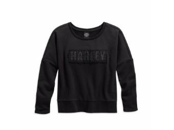 Sweatshirt, Harley-Davidson, Schwarz