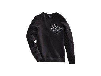 Sweatshirt, Born for Speed Black Label, Harley-Davidson, Schwarz