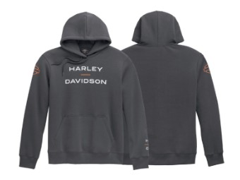 Pullover, Horizon Logo, Harley-Davidson, Grau