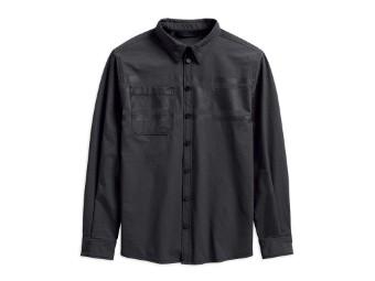 Hemd, Double Weave, Harley-Davidson, Schwarz