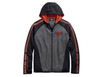 Sweatjacke, Wicking, Harley-Davidson, Grau
