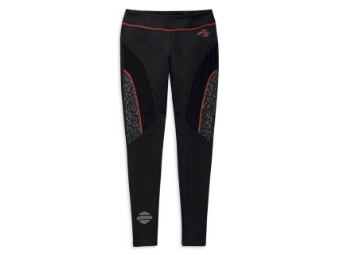 Leggings, Performance, Activewear Harley-Davidson, Schwarz