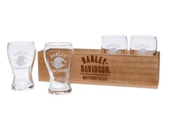 Bier Geschenk-Set & Box, Harley-Davidson,