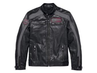 Lederjacke, Clarno Perforated, Harley-Davidson, Schwarz