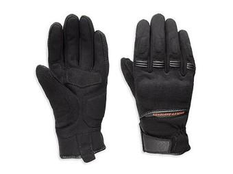 Motorrad-Handschuhe, Harley-Davidson, Schwarz