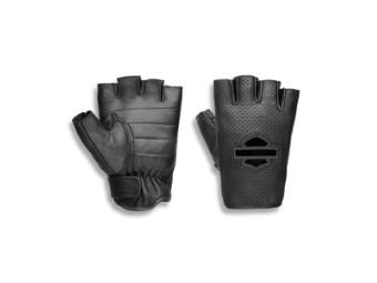 Handschuhe, Damen, Smokeshow, Leder, Harley-Davidson, Schwarz