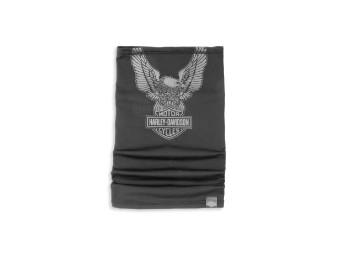 Halstuch, Eagle, Harley-Davidson, Schwarz