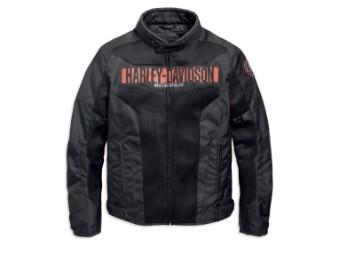 Jacke, Nemahbin, Harley-Davidson, Schwarz