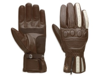 Handschuhe, Leder, Dash, Harley-Davidson, Braun