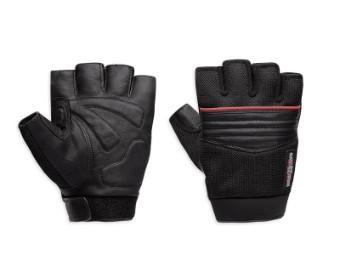 Handschuhe, Leder, Splice, Harley-Davidson, Schwarz