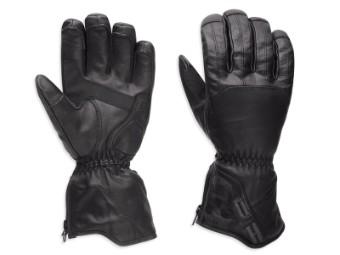 Handschuhe, Vagrant, Waterproof, 3-in-1, Harley-Davidson, Schwarz
