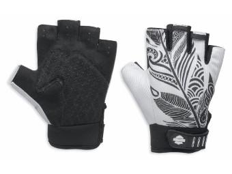 Handschuhe, Mesh, Harley-Davidson, Weiß