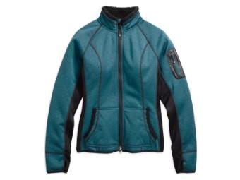 Funktionsjacke, Province Fleece, Mid-Layer, Harley-Davidson, Blau