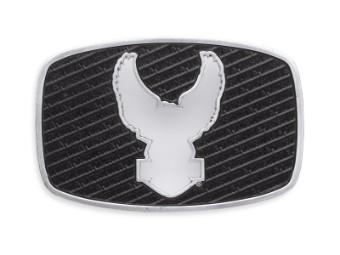 Gürtelschnalle, Cut-Out Eagle, Harley-Davidson, Schwarz