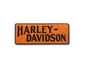 """Aufnäher """"Racer Tank Logo"""", Large, Harley-Davidson, Orange/Schwarz"""