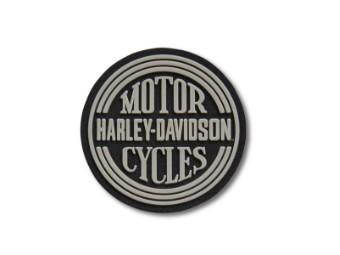 """Aufnäher """"80's Tank 2"""", Harley-Davidson, Grau/Schwarz"""