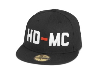 Cap, HD-MC, 59FIFTY, Harley-Davidson, Schwarz
