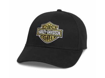 Baseball Cap, Bar & Shield, Harley-Davidson, Schwarz