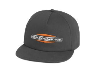 Cap, Tank Logo, Harley-Davidson, Grau