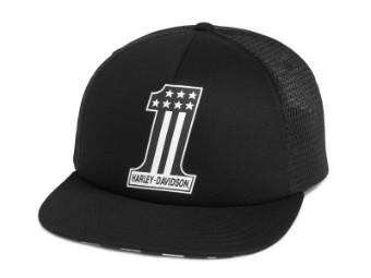 Baseball Cap, Mini Skull #1, Harley-Davidson, Schwarz